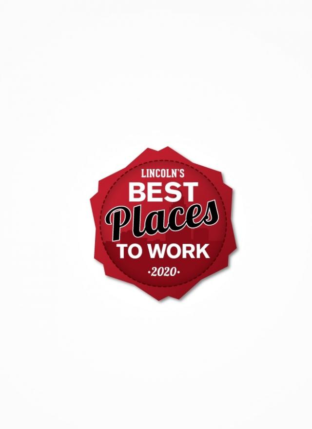 Best Places to Work in Lincoln Badge