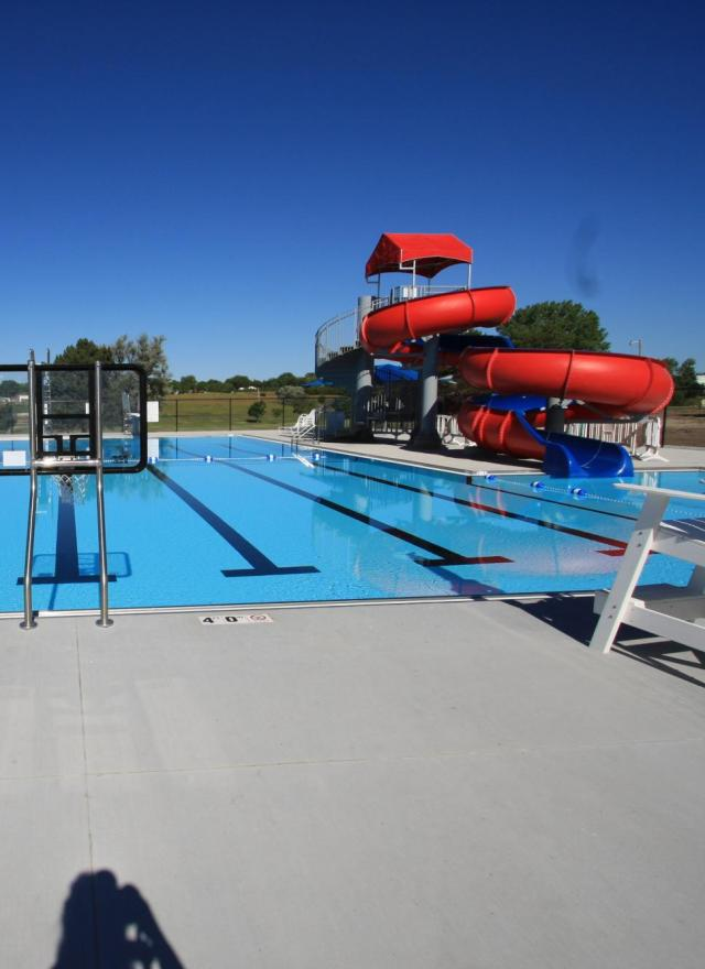 exterior view of Broken Bow Pool