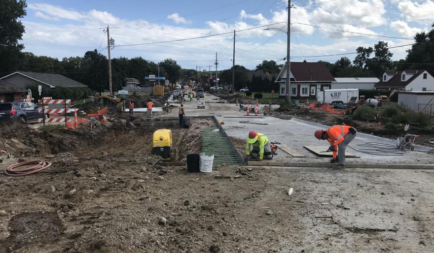 Sioux City Military Road Reconstruction