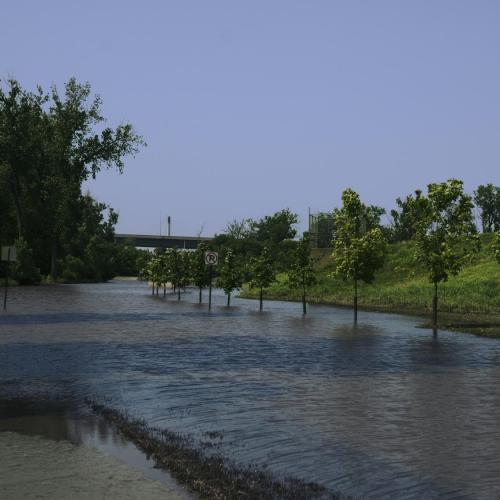 Council Bluffs levee flooding