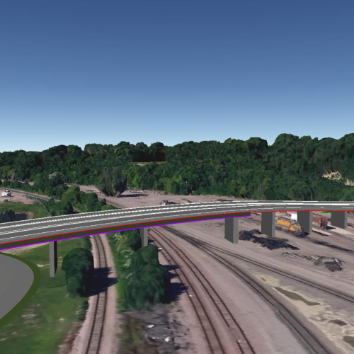 digital rendering of viaduct